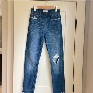 🍁 Madewell perfect summer jean